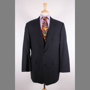 Brooks Brothers 43L Gray Sport Coat Y215